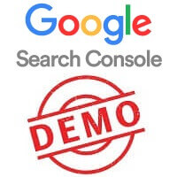 Demo Search Console