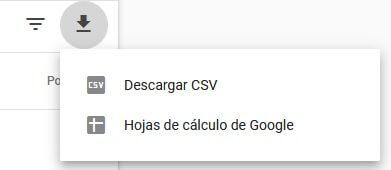 tutorial search console informe de rendimiento exporta los datos